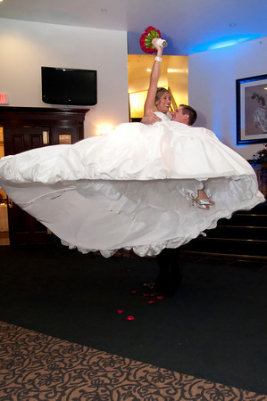 We are married! Grand entrance | Pittsburgh Wedding Photography
